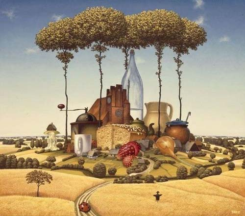 Surrealismo a arte do inconsciente for O kitchen city of dreams