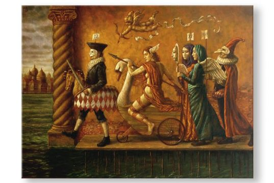 A arte de Jake Baddeley
